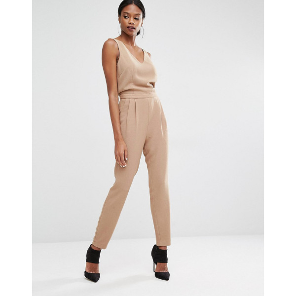 Y.A.S Diana jumpsuit - Jumpsuit by Y.A.S. Woven fabric V-neckline High waistband...