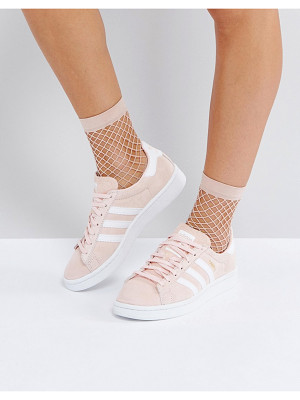 ADIDAS Campus Sneaker In Pale Pink