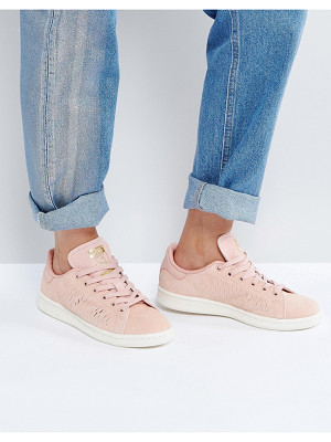 ADIDAS Adidas Originals Haze Coral Stan Smith Sneakers