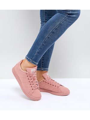 Adidas adidas Originals Pink Stan Smith Satin Quilted Sneakers