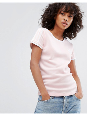 Adidas adidas Originals Sandra 1977 Fitted Tee In Pale Pink