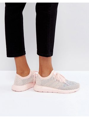 Adidas adidas Originals Swift Run Primeknit Sneakers In Pale Pink