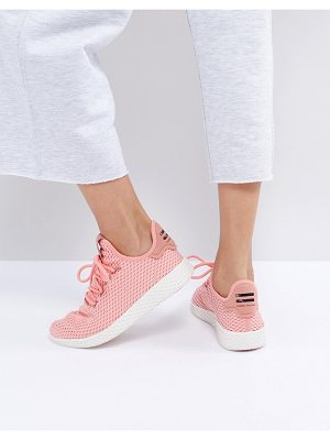 ADIDAS Adidas Originals X Pharrell Williams Tennis Hu Sneakers In Pink