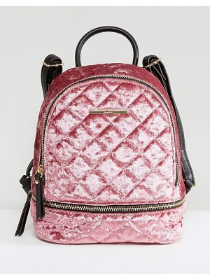 ALDO Adroiana Velvet Mini Backpack