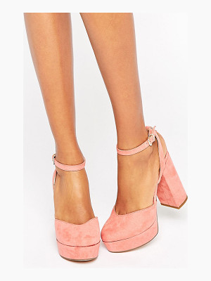 ALDO Shery Ankle Strap Platform Heeled Shoes
