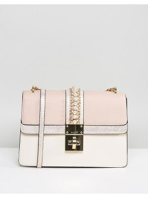 ALDO X Body Bag With Pearl Embellishment