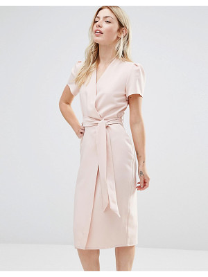 ALTER Wrap Tea Midi Dress