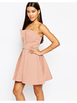 AQ/AQ Aq/Aq Bandeau Prom Mini Dress