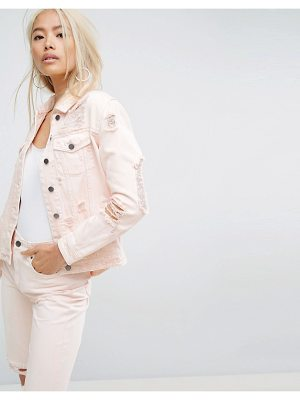 ARRIVE Destructed Denim Jacket