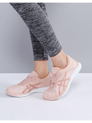 ASICS Running Fuze X Rush Sneakers In Pale Pink