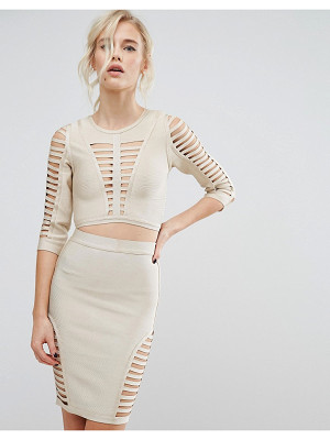 ASILIO Tonal Tech Crop Top