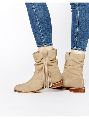 Asos ALOOK Suede Fringing Boots