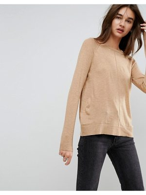 Asos Boyfriend Sweater With Crew Neck