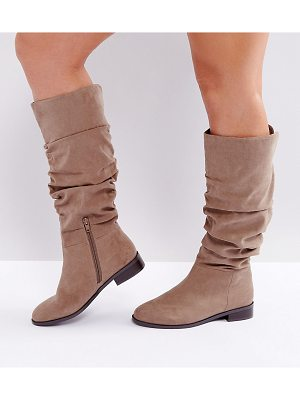 ASOS Capital Wide Fit Slouch Knee Boots
