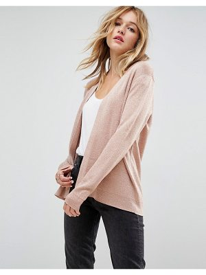 ASOS Cardigan In Metallic