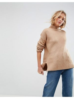 Asos Chunky Sweater With Turtleneck