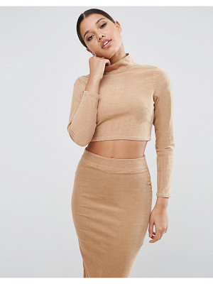 Asos Cord Turtleneck Top Co-Ord