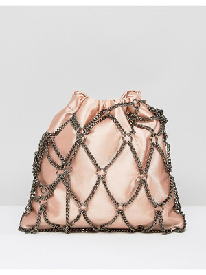 ASOS Chain Pouch Clutch Bag
