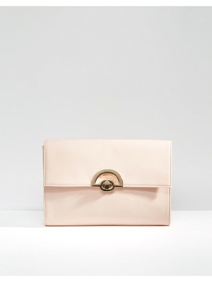Asos Curved Lock Clutch Bag