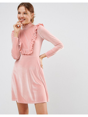 ASOS Cutie Pie Velvet Dress