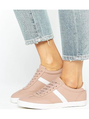 Asos DELPHINE Stripe Lace Up Sneakers