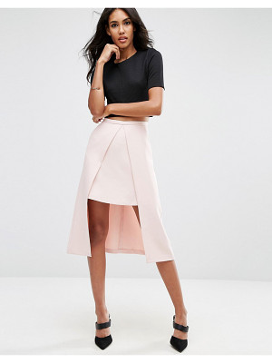Asos Double Layer Prom Skirt