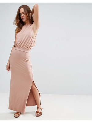 ASOS Drop Armhole Casual Maxi Dress
