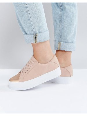 Asos DUTY Lace Up Sneakers