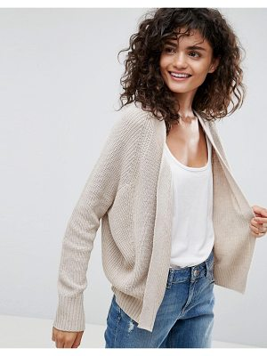 ASOS Eco Cardigan In Super Soft Yarn
