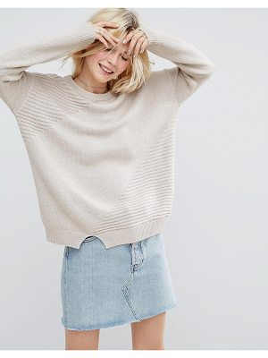 ASOS Eco Sweater In Super Soft Yarn
