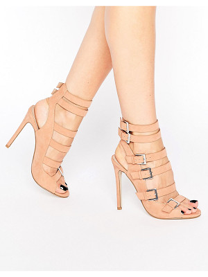 ASOS Embor Multi Buckle Shoe Boots