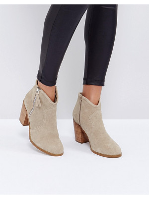 ASOS Emmie Suede Ankle Boots
