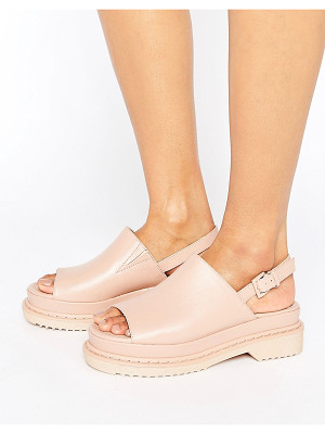 ASOS Feasible Chunky Sling Black Sandals