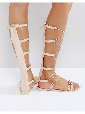 ASOS Freeman Jelly Gladiator Flat Sandals