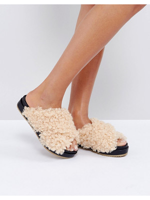 ASOS Furry Sliders