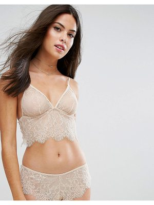 ASOS Hailey Longline Lace Triangle Bra