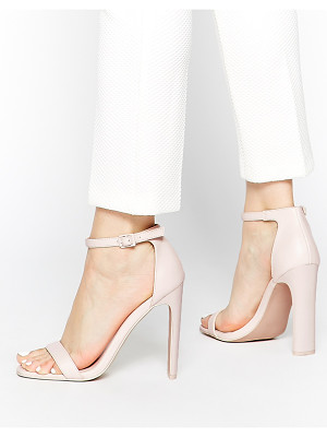 ASOS DESIGN hampton heeled sandals