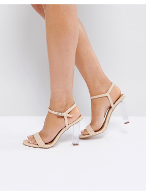 ASOS Hansel Clear Heeled Sandals