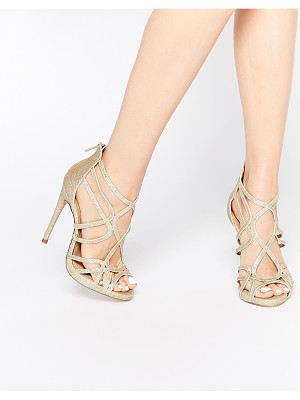 Asos HEARTBEAT Caged Heeled Sandals