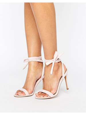 Asos HENRIETTA Barely There Heeled Sandals