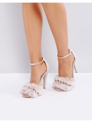 ASOS Her Majesty Embellished Heeled Sandals