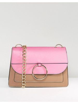 Asos HERO Dropped Hoop Chain Shoulder Bag