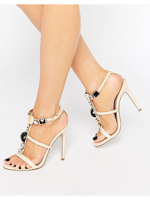 ASOS Hexa Embellished Heeled Sandals