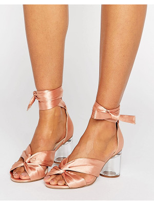 ASOS Hollow Heeled Sandals