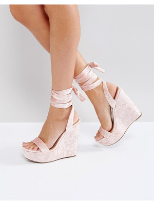 ASOS Honduras High Wedge Sandals