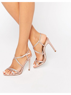 Asos HOUSTON Embellished Heeled Sandals