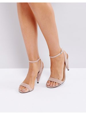 ASOS Hush Barely There Heeled Sandals