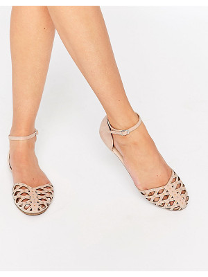 ASOS Jacqui Two Part Stud Shoes