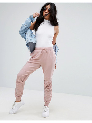 ASOS Jogger With Ruched Detail