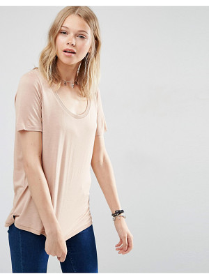 ASOS Knitted U Neck T-Shirt